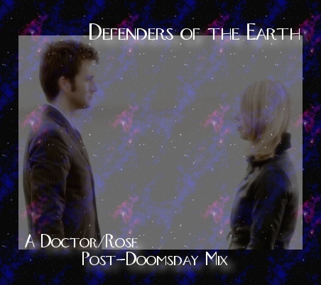 Doctor/Rose Post-Doomsday fanmix front cover